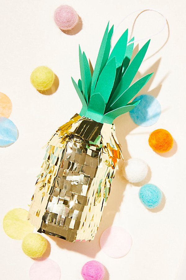 Slide View 1: Mini Piñata Pineapple Ornament