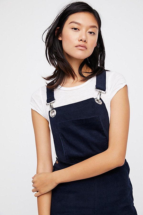 Slide View 3: Cord Overalls