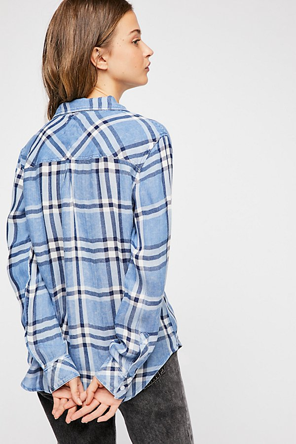 Slide View 2: Hunter Plaid Buttondown