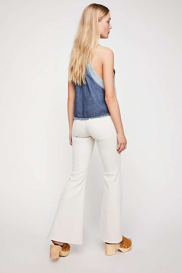 Slide View 2: Low-Rise Flare Jeans