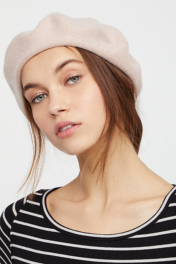 Merci Knit Beret  by Free People