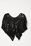 Thumbnail View 3: Vintage 1980s Sequin Butterfly Top