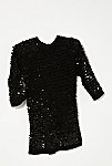 Thumbnail View 1: Vintage 1980s Knit Sequin Tunic
