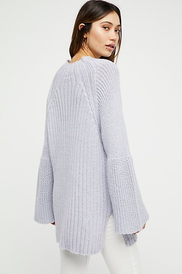 Slide View 3: Begin Again Mock Neck Sweater