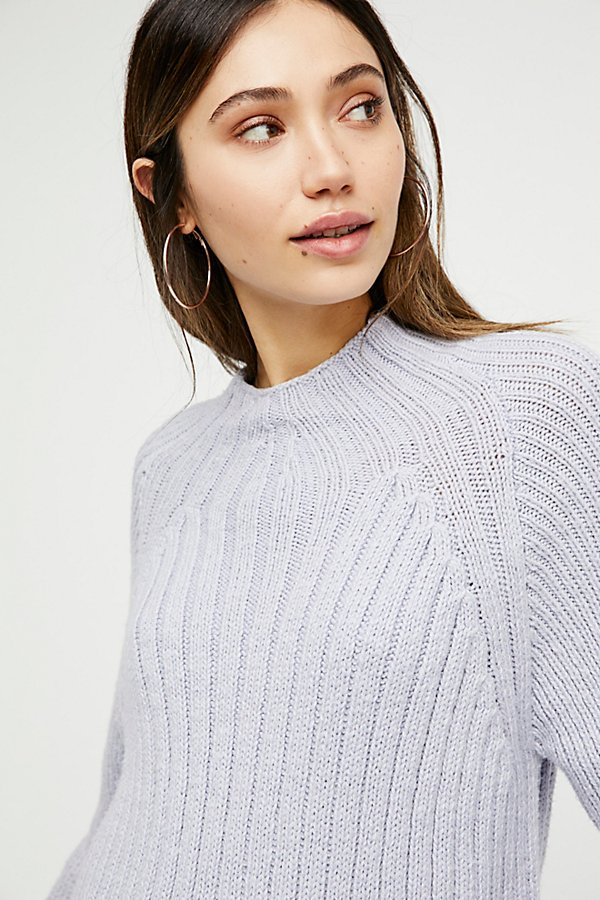 Slide View 4: Begin Again Mock Neck Sweater