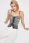 Thumbnail View 1: FP One Sun Bleached Corset Top