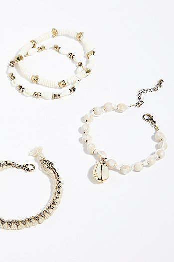 Embellished Bracelet Set