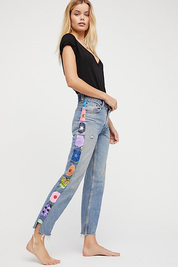 Slide View 4: Rialto Jean Project Embroidered Tuxedo Jeans