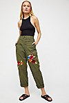 Thumbnail View 4: Embroidered Military Pant