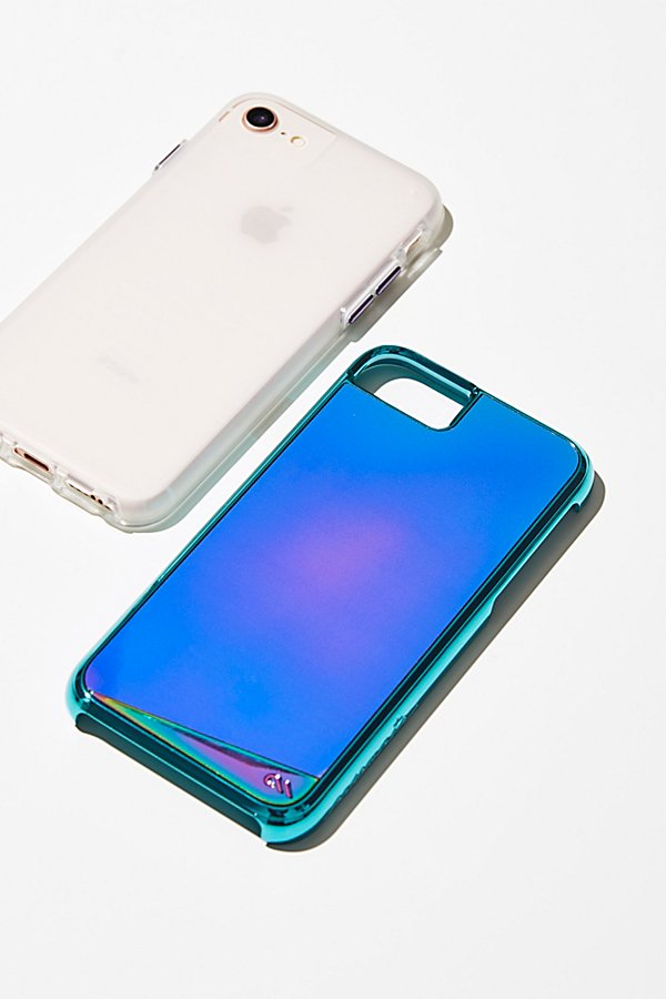 Slide View 1: Color Changing Mood iPhone Case