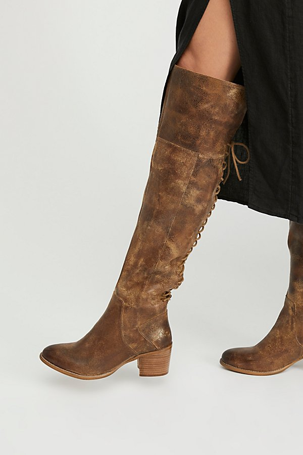 Slide View 1: Easton Lace Back Boot