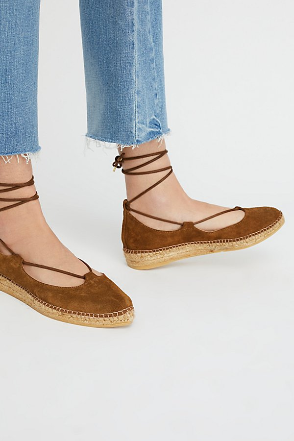Slide View 1: Suede Paloma Espadrille