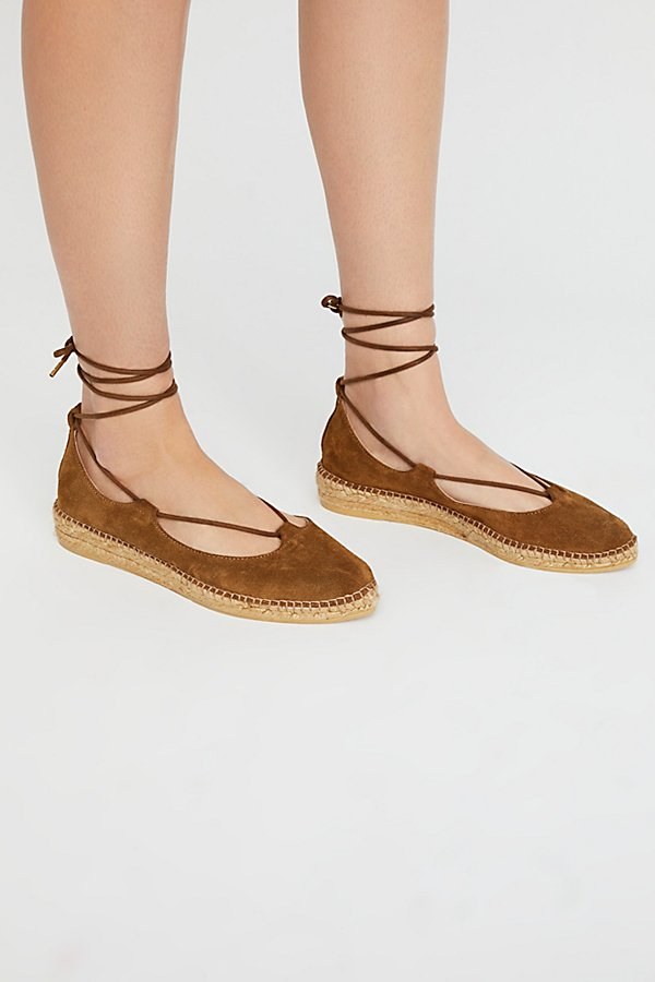 Slide View 2: Suede Paloma Espadrille
