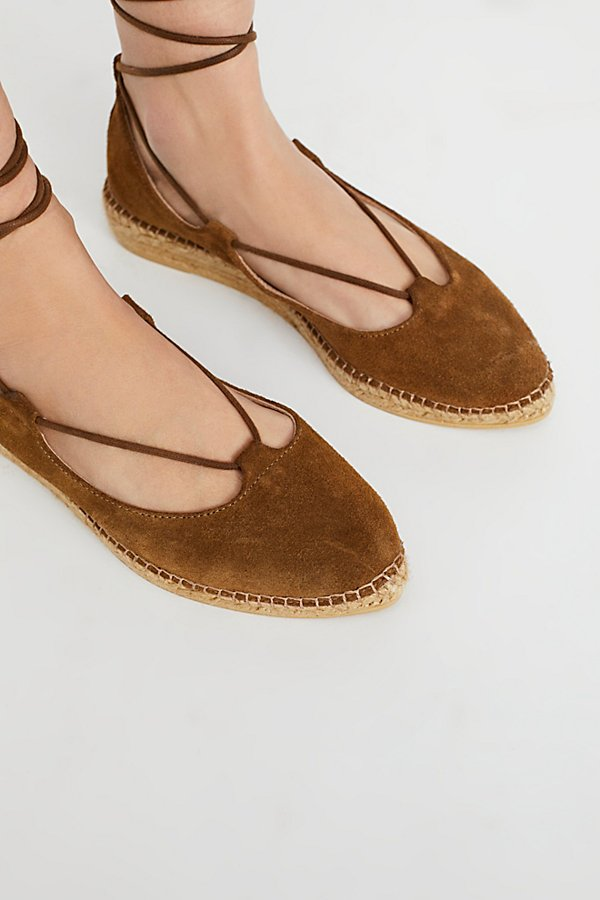 Slide View 3: Suede Paloma Espadrille