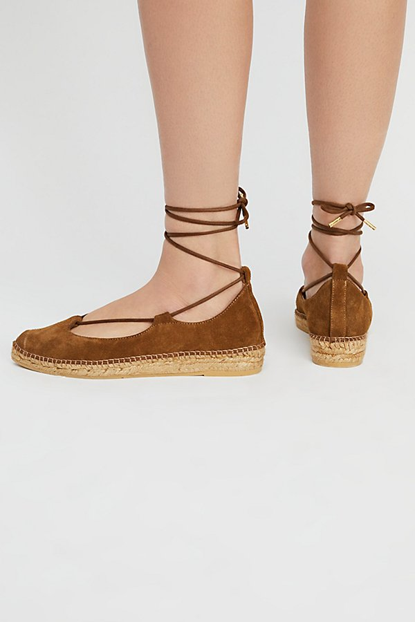 Slide View 4: Suede Paloma Espadrille