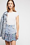 Thumbnail View 1: Rialto Jean Project Painted Denim Skirt
