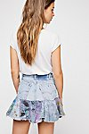 Thumbnail View 2: Rialto Jean Project Painted Denim Skirt