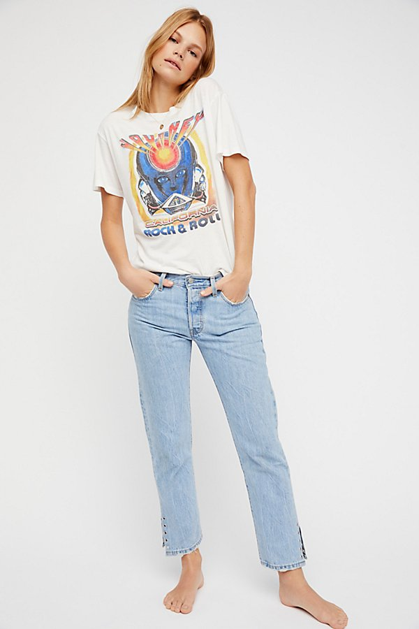 Slide View 3: Levi's 501 Crop Jeans