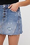 Thumbnail View 4: Denim A-Line Skirt