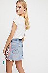 Thumbnail View 2: Tricia Fix Lace-Up Denim Skirt