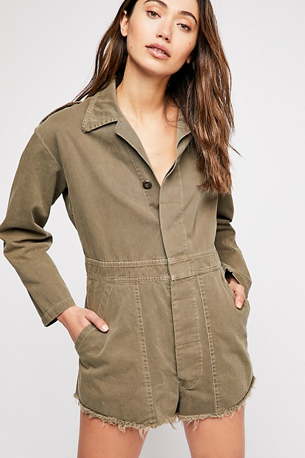 Slide View 3: Military Embellished Coverall