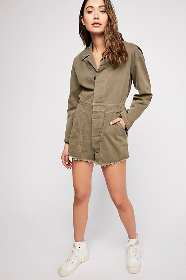 Slide View 4: Military Embellished Coverall