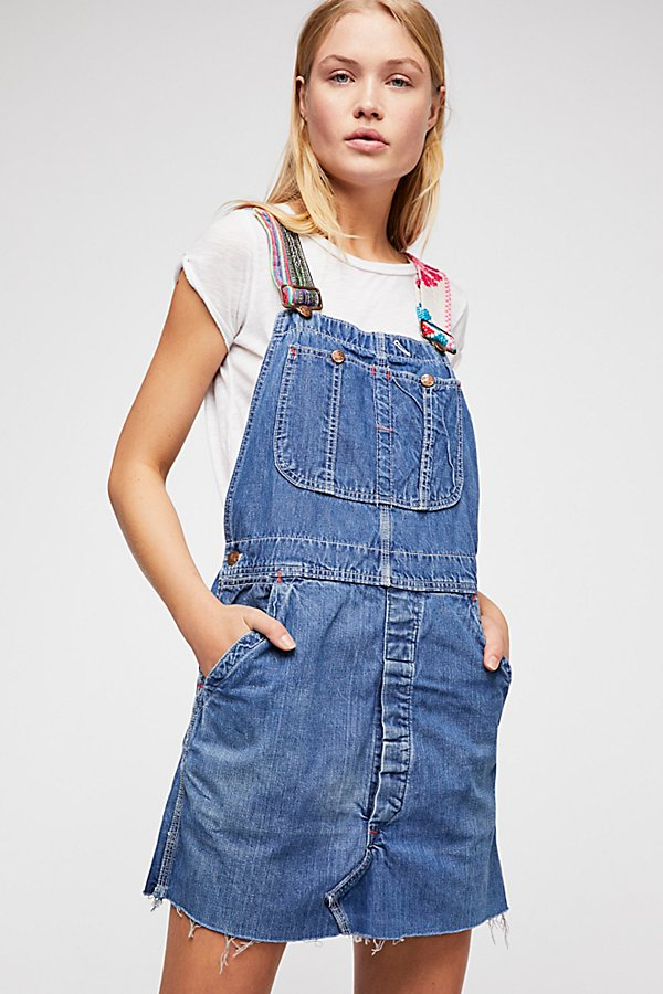 Slide View 1: Tricia Fix Reworked Denim Overalls