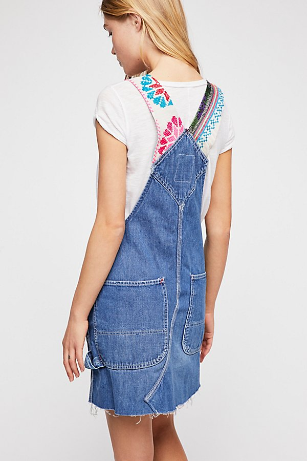 Slide View 2: Tricia Fix Reworked Denim Overalls