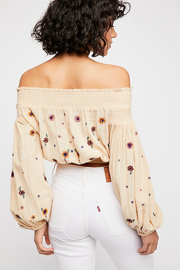 Slide View 3: Saachi Smocked Top