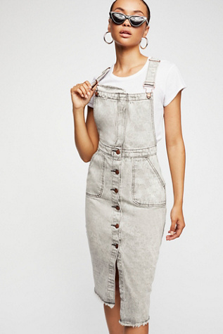 Harley Denim Pini Dress by Free People