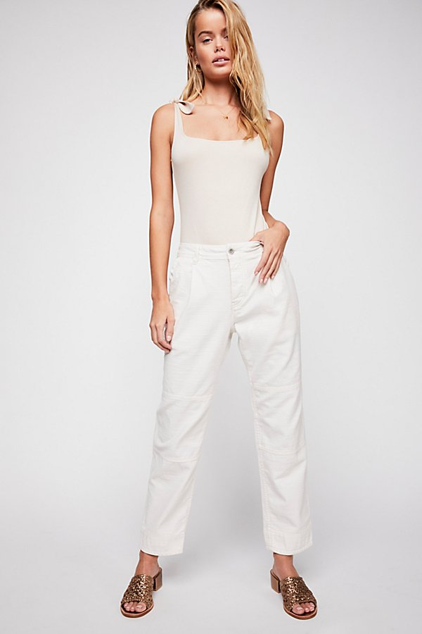 Slide View 1: Utility Boyfriend Pants