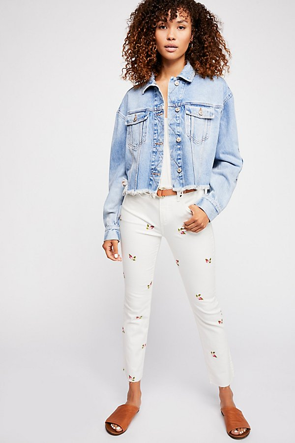 Slide View 1: Driftwood Candice Crop Jeans