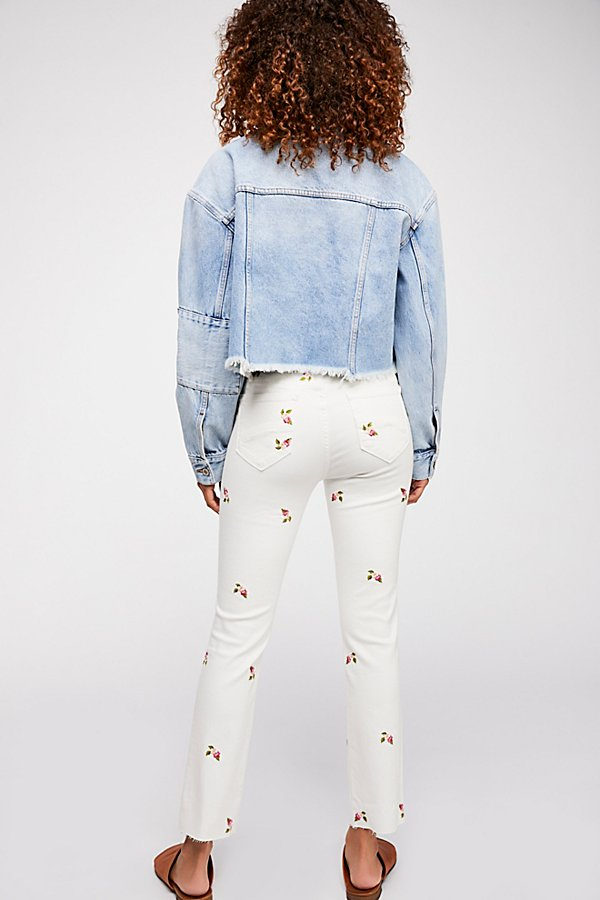 Slide View 2: Driftwood Candice Crop Jeans