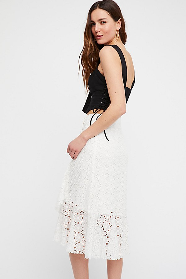Slide View 2: Springlet Midi Skirt