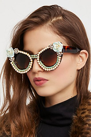 Slide View 1: Debutante Embellished Sunnies