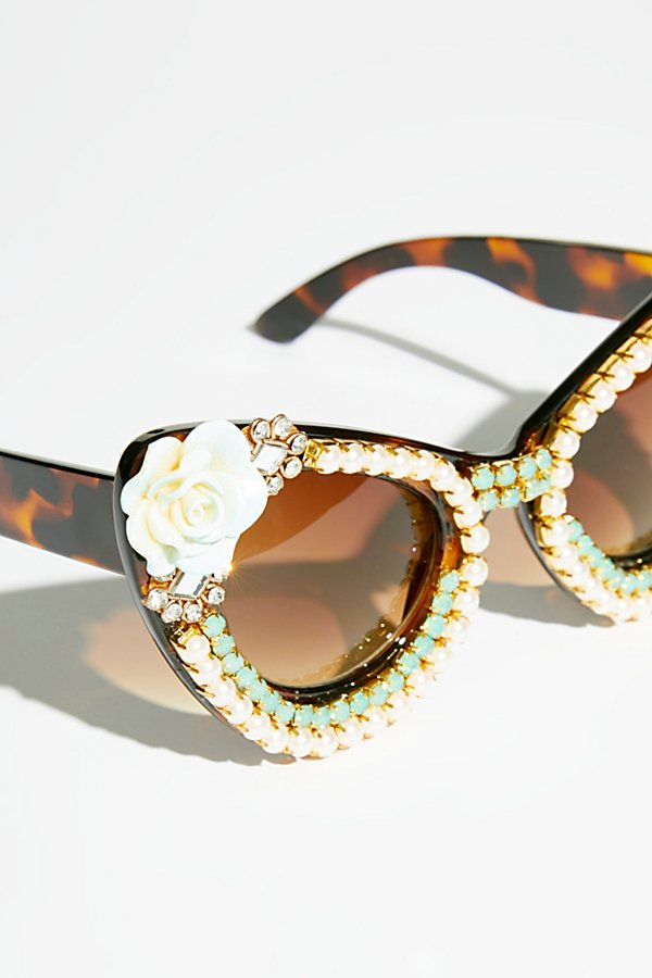 Slide View 3: Debutante Embellished Sunnies
