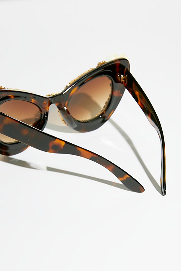 Slide View 4: Debutante Embellished Sunnies