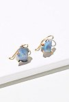 Thumbnail View 1: Raw Australian Opal Hook Earrings