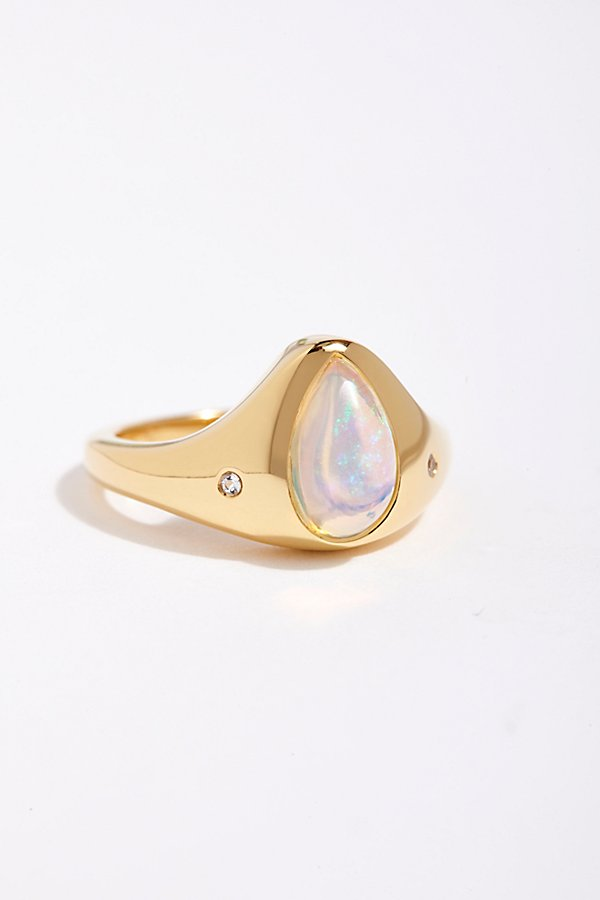 Slide View 1: 14k True North Opal Ring