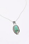 Thumbnail View 2: Sterling Turquoise Pendant