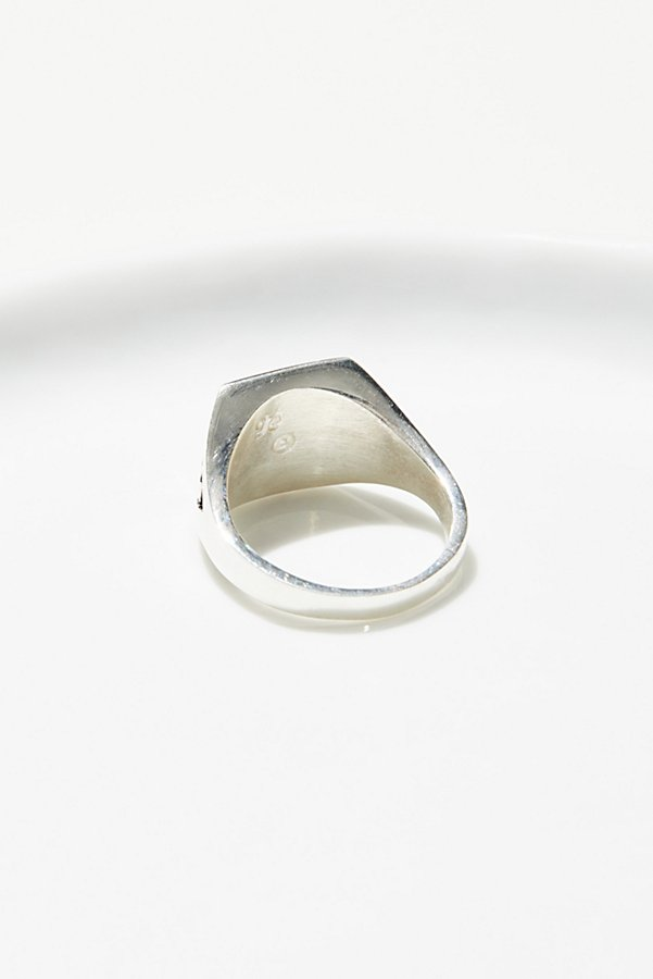 Slide View 2: Sterling Inlay Stone Ring