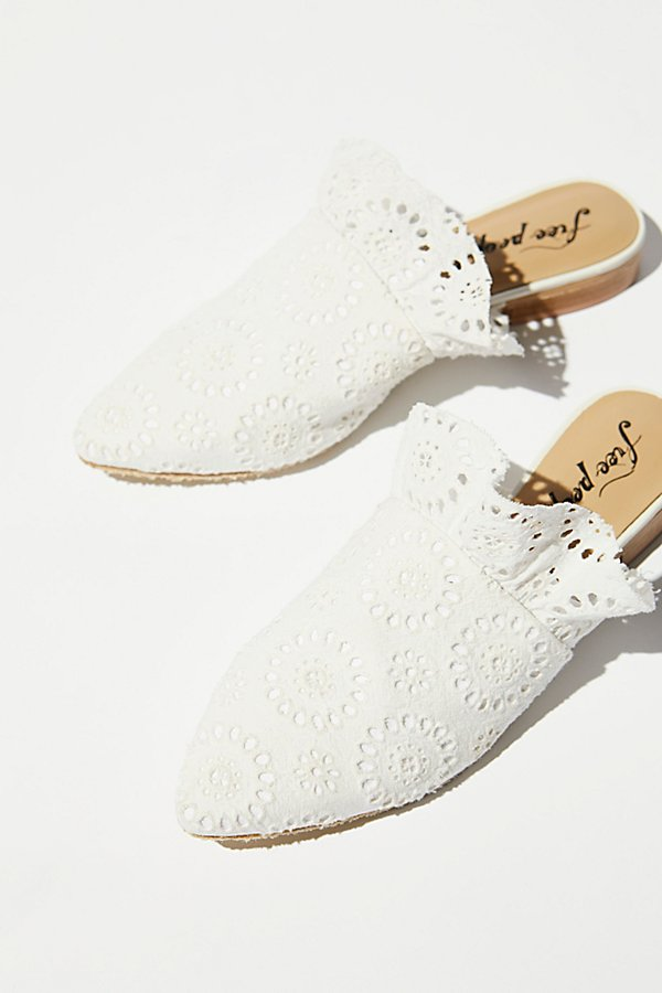 Slide View 1: Eyelet Sienna Slip On Mule