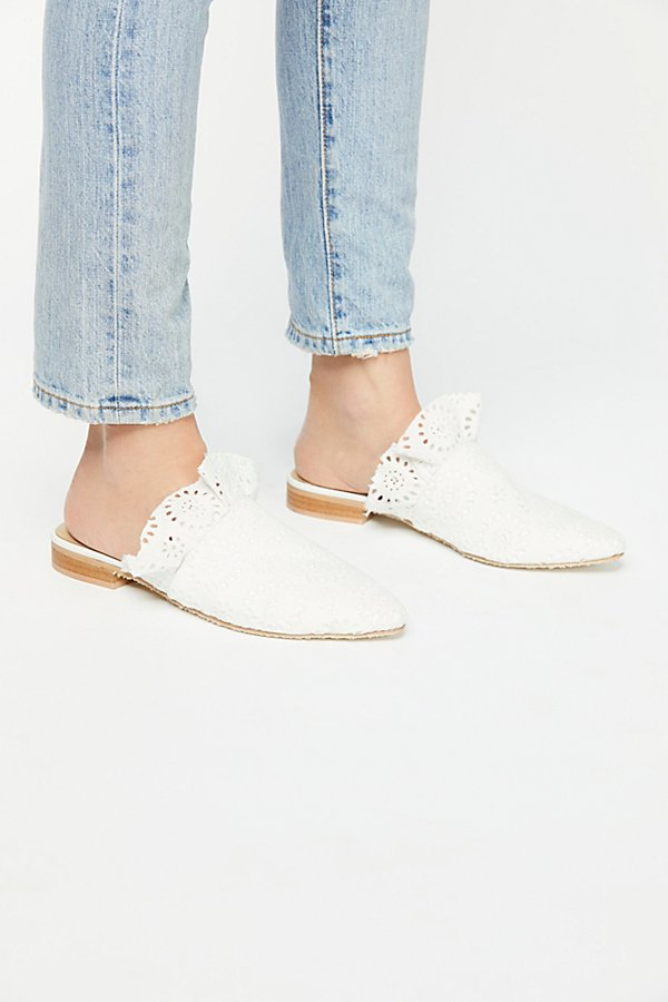 Slide View 2: Eyelet Sienna Slip On Mule