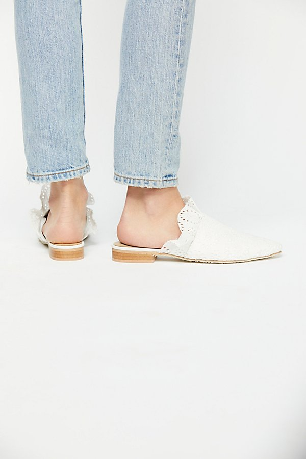 Slide View 4: Eyelet Sienna Slip On Mule