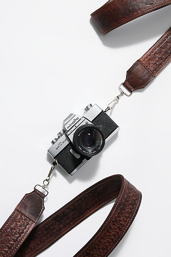 Slide View 2: Lexi Tooled Leather Camera Strap