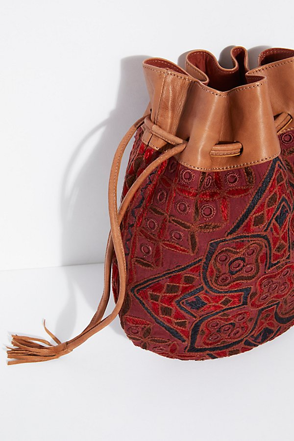 Slide View 7: Majorca Embroidered Pouch