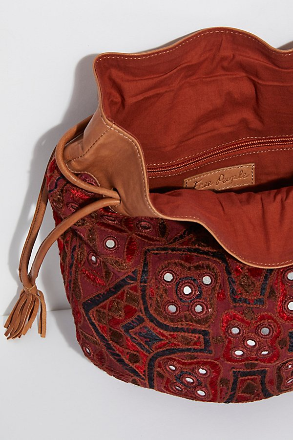 Slide View 8: Majorca Embroidered Pouch