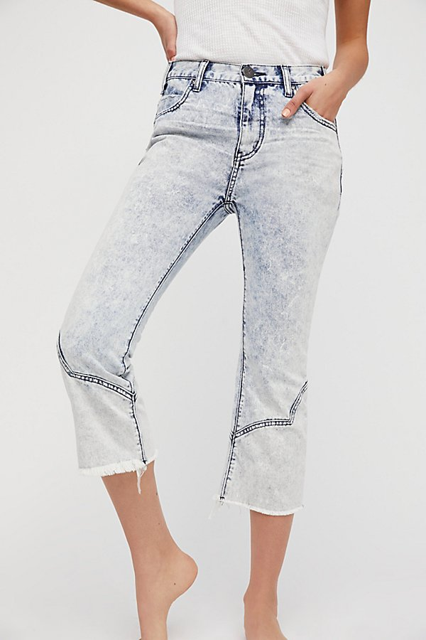Slide View 3: OneTeaspoon Rocky Acid Mid-Rise Jeans