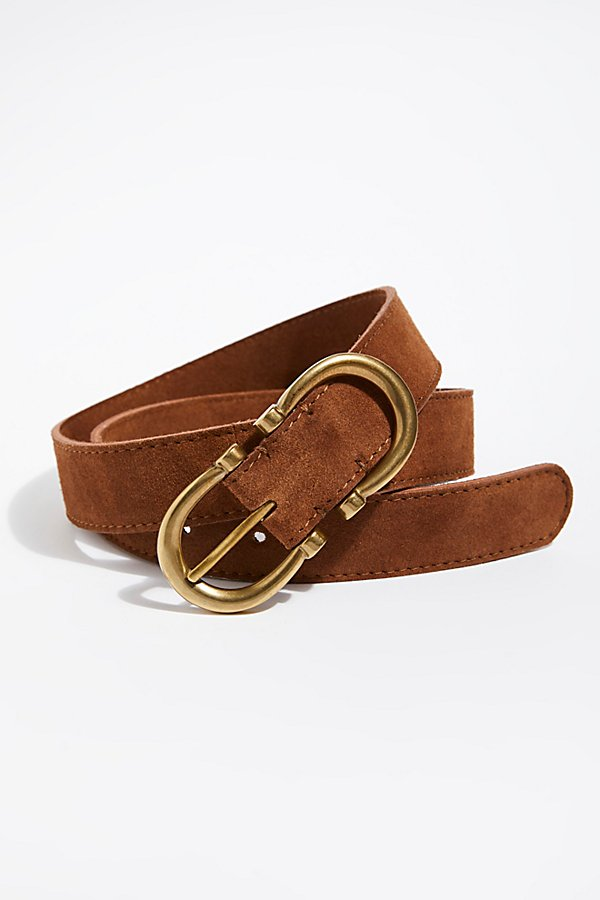 Slide View 2: Infinity Suede Belt