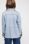 Thumbnail View 2: Zadig & Voltaire Kick Destroy Denim Jacket